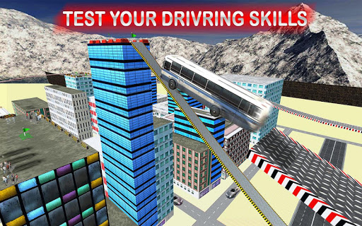 Rooftop Impossible Bus Driving 2018 1.0.1 screenshots 2