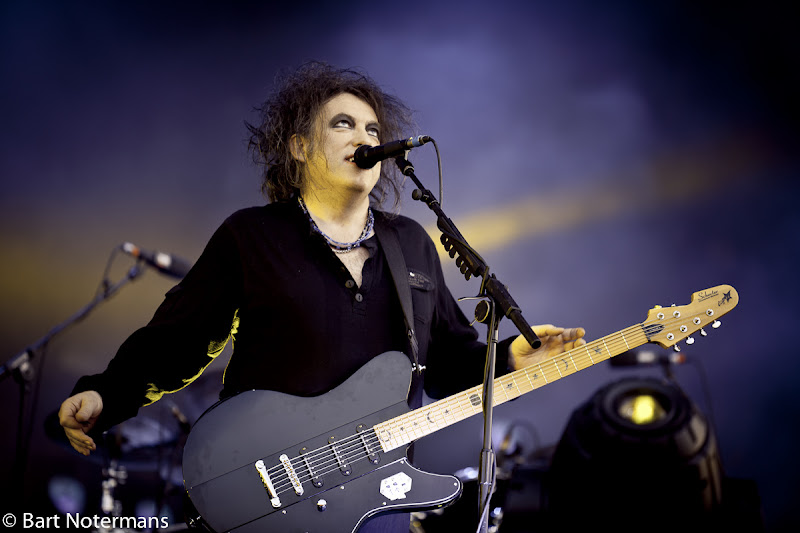 Photo: The Cure op Pinkpop 2012