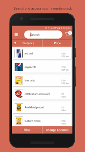 Snackspop: Snack Food Delivery- screenshot thumbnail