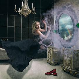 Oz by Kelley Hurwitz Ahr - Digital Art People ( bathroom rcomposite )
