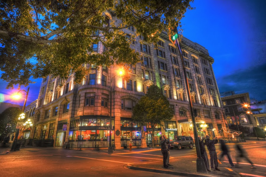 Victoria by Keith Boone - City,  Street & Park  Street Scenes