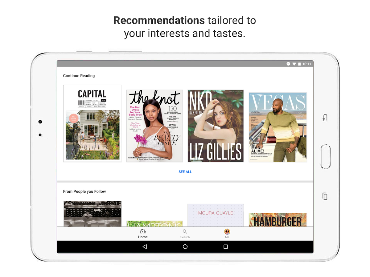 issuu - Read Magazines, Catalogs, Newspapers.- screenshot