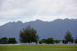 Photo: Year 2 Day 104 -  View of the Mountains on the Outskirts of Cenang