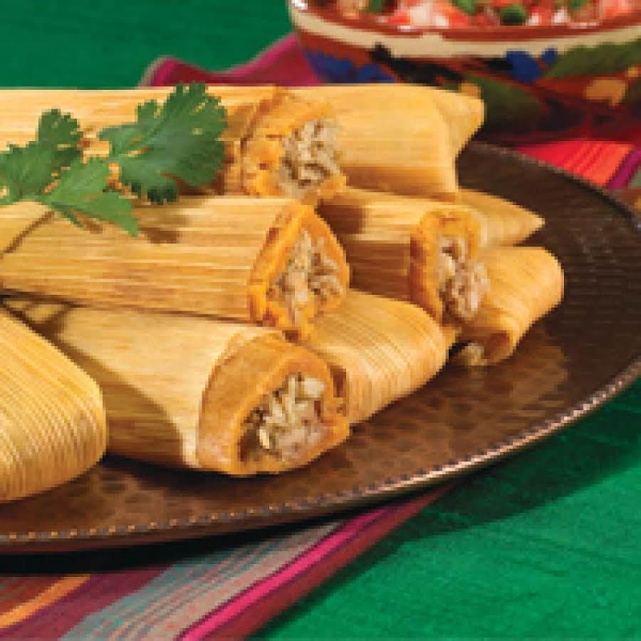 Chicken Tamales Recipe: Skinny Weight Watcher Chicken Tamales Recipe