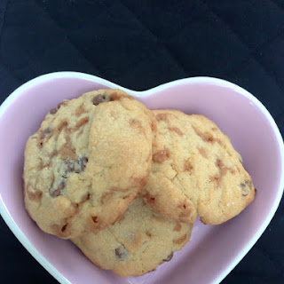 Salted Chocolate Chip And Toffee Biscuits / Cookies