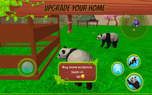 Panda Simulator  3D u2013 Animal Game modavailable screenshots 4