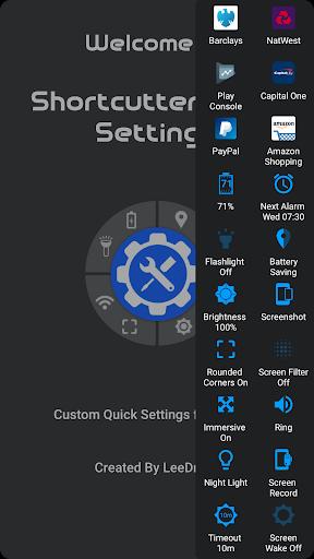 Shortcutter Quick Settings v3.3.2 [Premium]