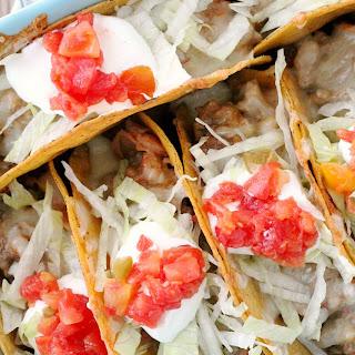 Cheesy Baked Tacos.