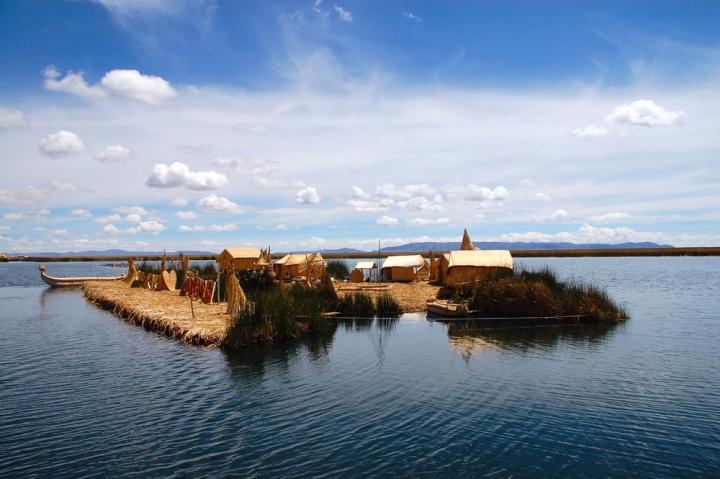 Isola galleggiante di natyrob