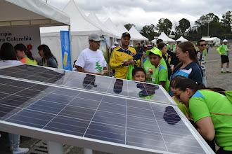 Photo: Analizando el panel solar