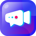 Meet New People via Free Video Chat - Moon Live icon
