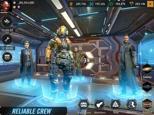 Infinite Galaxy - Empire, starcraft, sci fi, mmo apkpoly screenshots 7