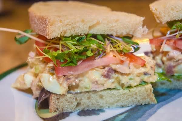 Sandwich Essentials: Loaded Tuna & Egg Salad Recipe
