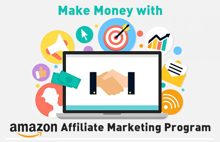 Kiếm tiền với Amazon Affiliate, hướng dẫn tiếp thị liên kết Amazon