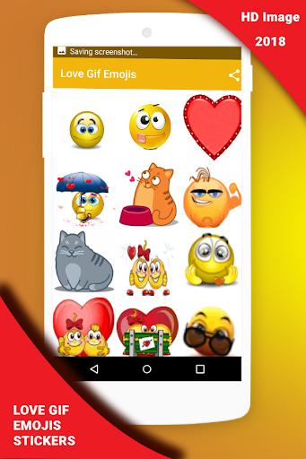 Love Gif Emoji Stickers 1.0.3 screenshots 4