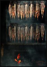 Photo: Hot smoked salmon