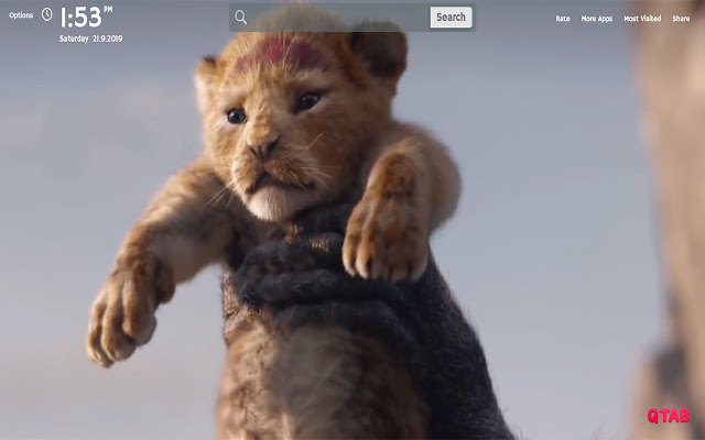 The Lion King Wallpapers New Tab