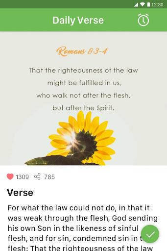 King James Bible (KJV) - Free Bible Verses + Audio App