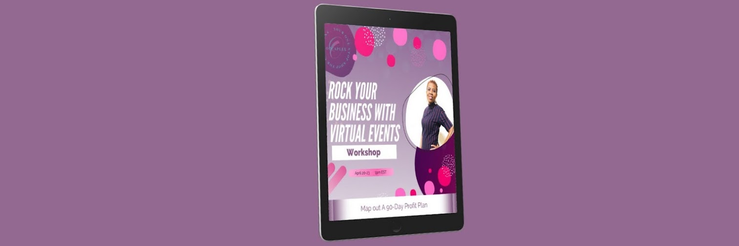 Rock Your Business  With Virtual Events Workshop