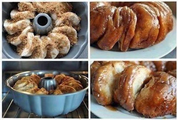 Cinnamon Bundt Breakfast Biscuit Recipe