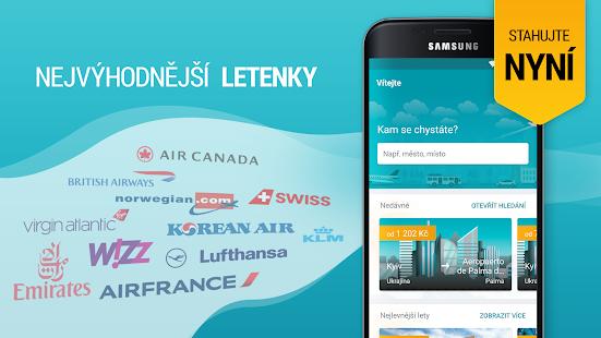 Kiwi.com - rezervuj nejlevnější letenky v mobilu - náhled