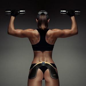 Aparat de fitness EMS - tonifiere musculara pentru coapse sau fese