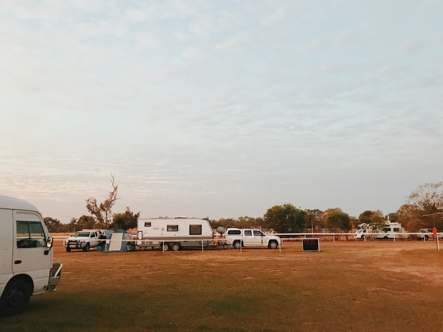 powered camping ground australia