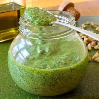 Cheddar Walnut Pesto.