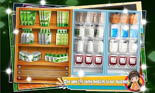 supermarket drugstore cashier : kids doctor games - náhled
