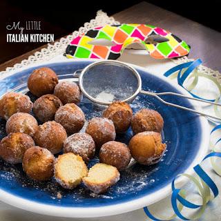 Italian Little Sweet Fried Balls for Carnevale Recipe
