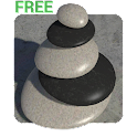 3D Zen Stones LWP Free icon