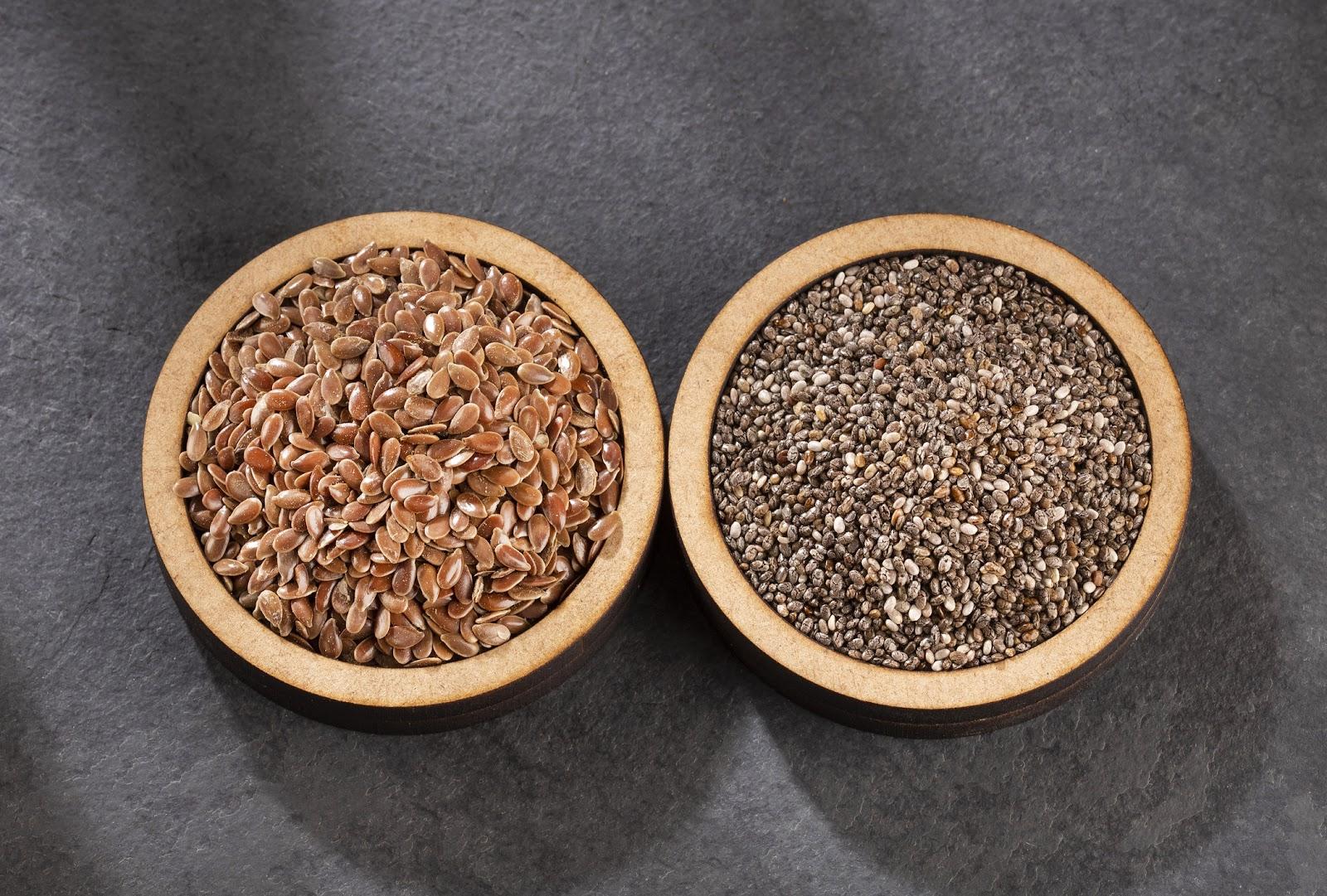 Flax & Chia Seeds