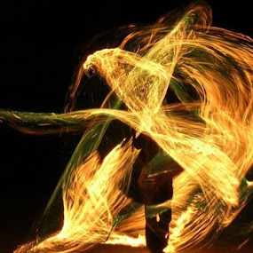 Walking through Fire  by William Brunson Jr. - People Musicians & Entertainers