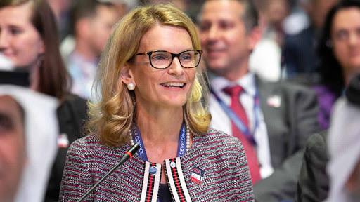 Doreen Bogdan-Martin, director of ITU's Telecommunication Development Bureau.