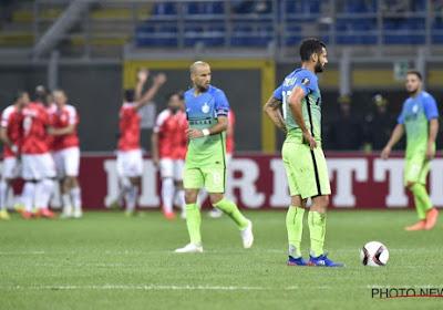 Les résultats de la première journée d'Europa League: L'Inter se loupe d'entrée