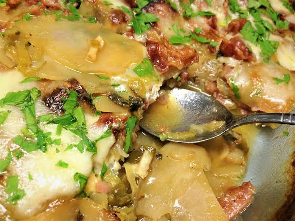 Oven-baked Potatoes With Bacon