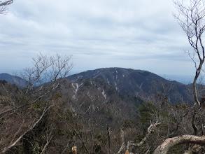 入道ヶ岳が近くに
