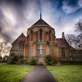 St Mary's by Mike Woodford - Buildings & Architecture Places of Worship ( uk, christian, england, church, otherworldly, community, holy, consecrated, english, worship, cross,  )
