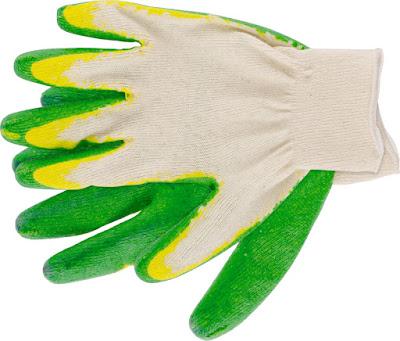 Перчатки трикотажные Ми с двойным латексным обливом