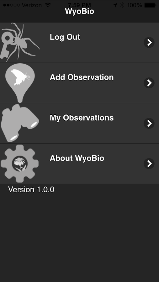WyoBio- screenshot