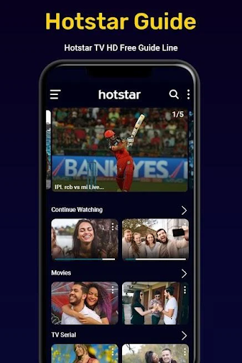 Hotstar Live TV Show screenshot 1