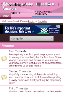 Pregnancy Stages- screenshot thumbnail