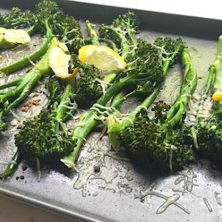 Roasted Lemon Broccolini.