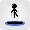 Tramp Land - Stickman Jump Arcade APK Icon