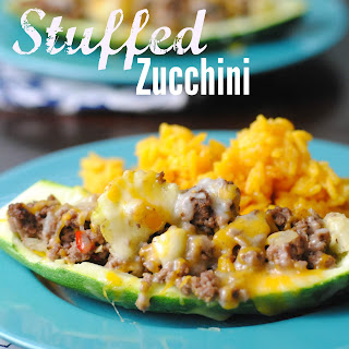Stuffed Zucchini Ground Beef Recipes