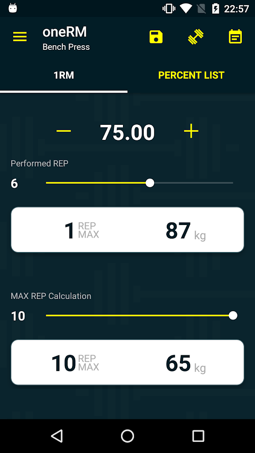 Max Simple One Rep Max Calculator For 5x5 Strength - Imagez co