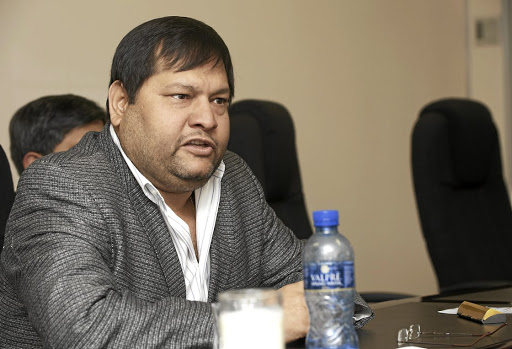 Fast track: Ajay Gupta's family was given citizenship in record time after Ashu Chawla reportedly got home affairs minister Malusi Gigaba and his officials to intervene. Picture: MARTIN RHODES
