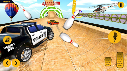 مطاردة سيارة الشرطة المستحيلة: ألعاب السيارات المثيرة 2020 لقطات 2