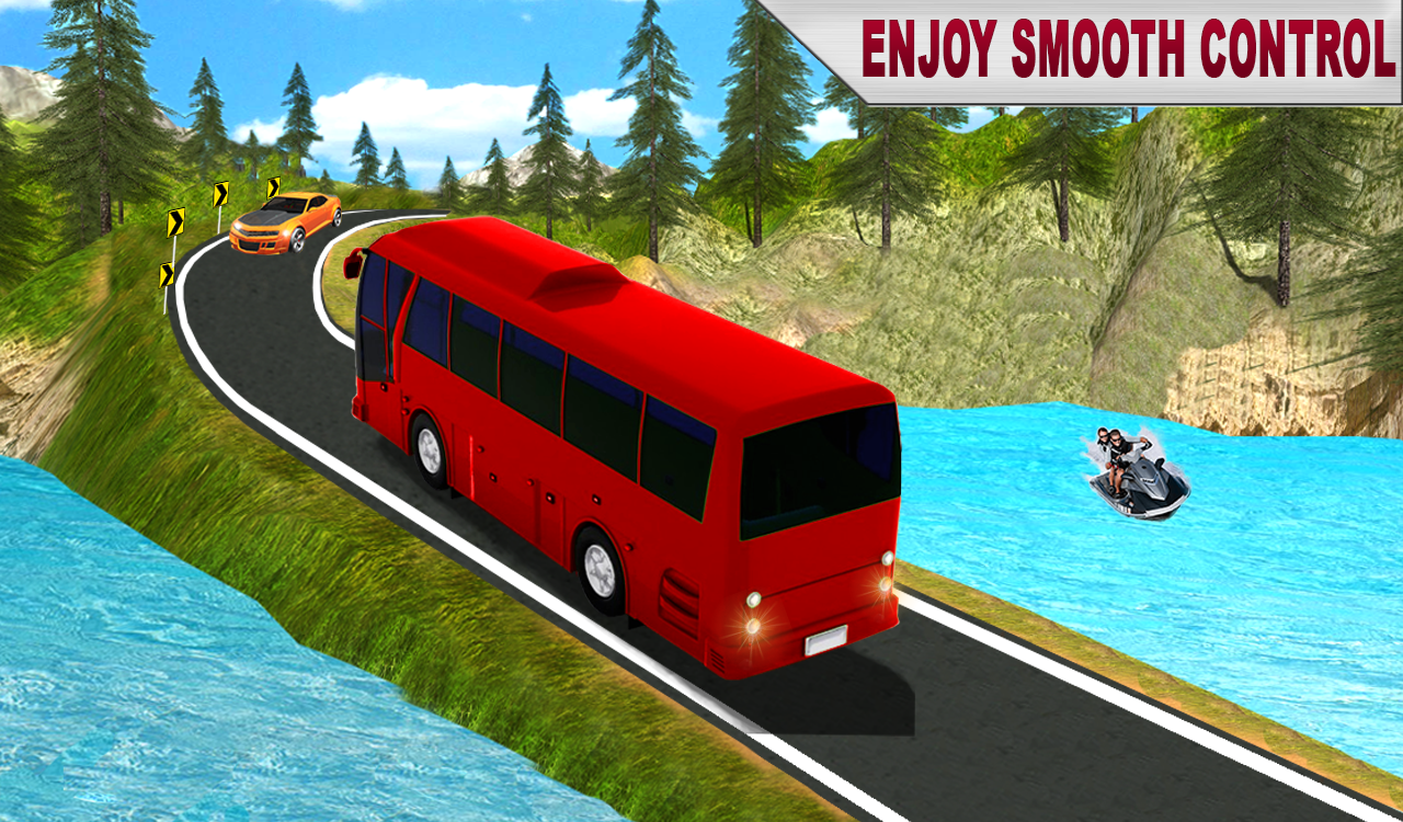 Modern Bus Driver Game Simulator- screenshot
