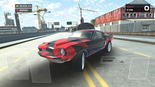 Car Simulator 3D  captures d'écran 1